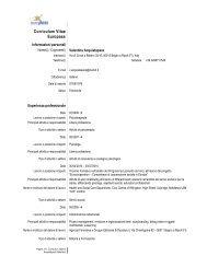 Curriculum Vitae Europass - LabSi