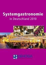 Systemgastronomie in Deutschland 2010 - DEHOGA Bundesverband