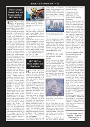 Read Editorial online - pdf file - Laboratory equipment manufacturers