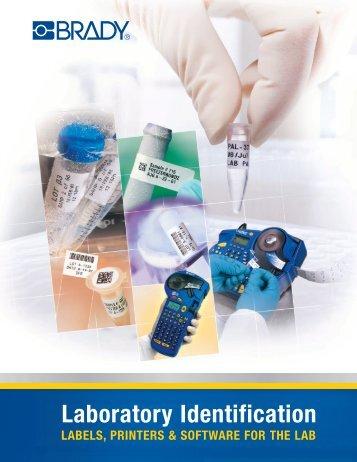 Brady Laboratory ID Catalogue - Labtek