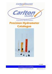 CGTEK Hydrometer Catalogue May09 UNPRICED - Labtek