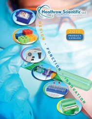 Heathrow Scientific Catalogue - Labtek