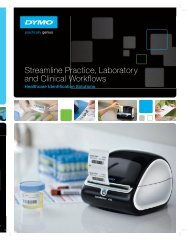 DYMO Healthcare Brochure [2MB] - Labtek