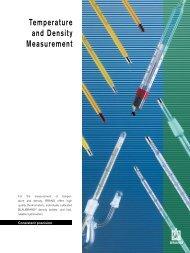Temperature and Density Measurement - Labtek