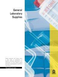 General Laboratory Supplies - Labtek