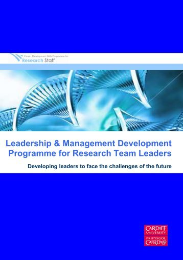 Leadership and Management Development ... - Cardiff University