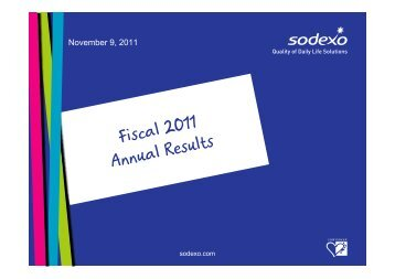Fiscal 2011 Results - Presentation