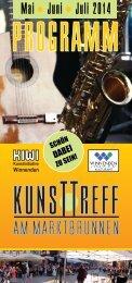 KUNSTTREFF AM MARKTBRUNNEN 2014
