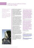 School of History, Archaeology and Religion, Cardiff University - Page 2