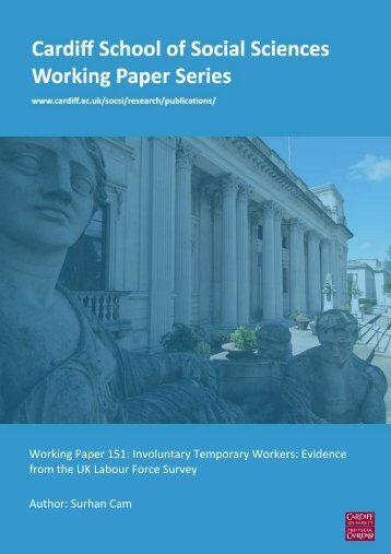 Working Paper 151: Involuntary Temporary ... - Cardiff University