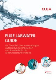 PURE LABWATER GUIDE