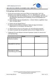 Prüfungsfragen Sehhilfe und Auge: Ein Kunde kommt ... - SWAV