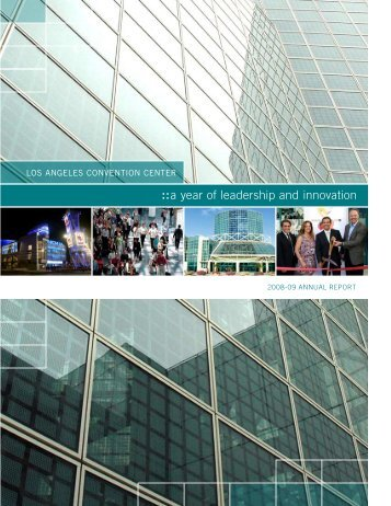 annual report - Los Angeles Convention Center