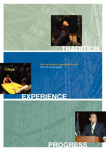 Annual Report 2007 - Los Angeles Convention Center