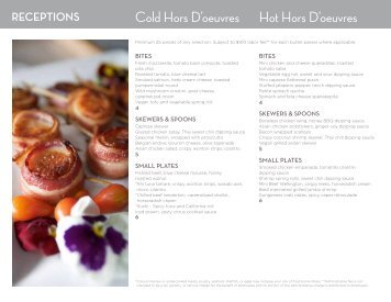 Hors D' Oeuvres PDF