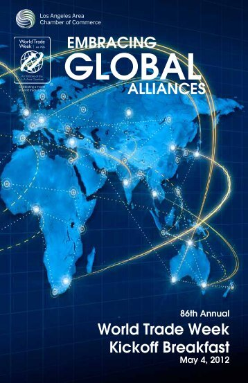 embracing global alliances - Los Angeles Chamber of Commerce