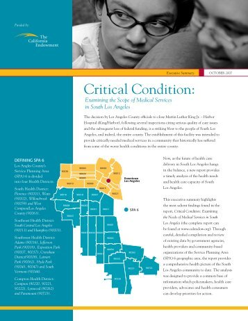 Critical Condition: