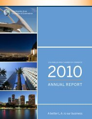2010 - Los Angeles Chamber of Commerce