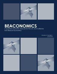BEACONOMICS - Los Angeles Chamber of Commerce