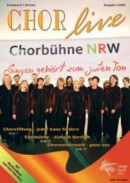 Wir begrüßen neu im Sängerbund NRW - ChorVerband NRW eV