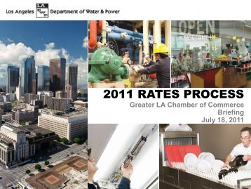 2011 RATES PROCESS