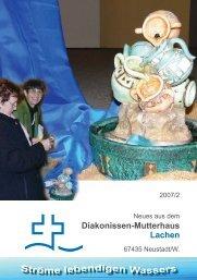 Berichtsheft 07_2.indd - Diakonissen-Mutterhaus Lachen