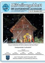 Mitteilungsblatt Dezember - Samtgemeinde Lachendorf
