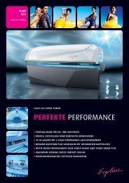 ERGOLINE FLAIR 250 super Power - Lacher Solarien