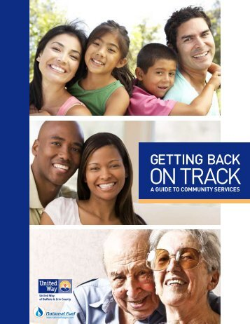 "United Way ""Getting Back on Track - A Guide to Community Services"""