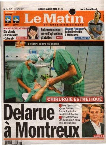 Le Matin (CH) - Laclinic