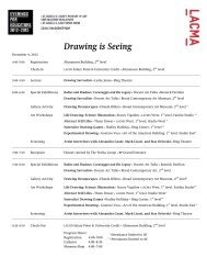 Drawing is Seeing - Los Angeles County Museum of Art