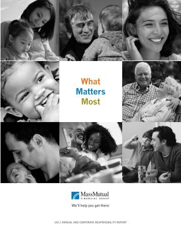 What Matters Most - MassMutual