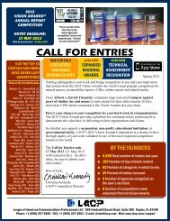 CALL FOR ENTRIES - Lacp.com