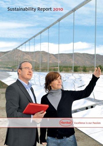 Henkel Sustainability Report 2010
