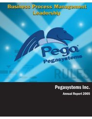 Pegasystems Inc. - Lacp.com