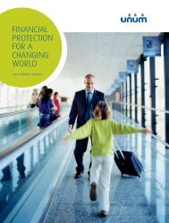 FINANCIAL PROTECTION FOR A CHANGING WORLD - Lacp.com