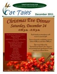 December 2011 - Cattail Creek Country Club