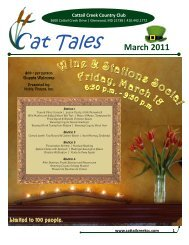 at Tales March 2011 - Cattail Creek Country Club