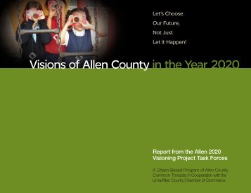 Visions of Allen County in the Year 2020 - Lima-Allen County ...