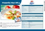 Mozzarella Maxi 250 g
