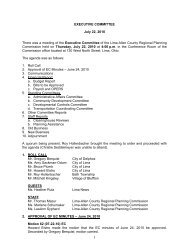 1 EXECUTIVE COMMITTEE July 22, 2010 There was a meeting of ...