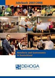 Jahrbuch 2007/2008 - DEHOGA Bundesverband