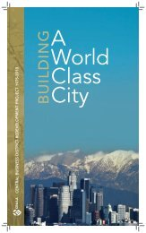 Building a World Class City (2010, 24pgs) - LA Differentiated