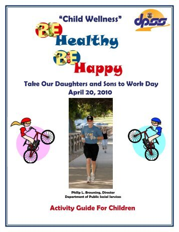 Child Wellness Activity Guide - Department of Public Social Services