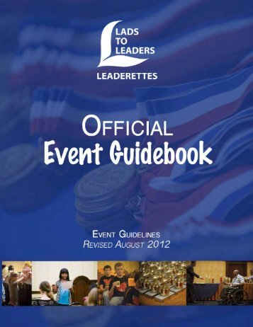 Rules Book - Updated August 2012 - Lads to Leaders