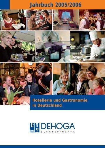 Jahrbuch 2005/2006 - DEHOGA Bundesverband