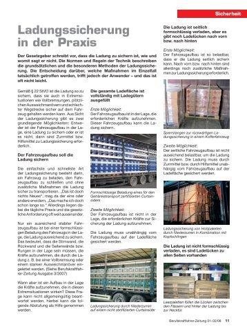 PDF Ladungssicherung in der Praxis - Ladungssicherung.de