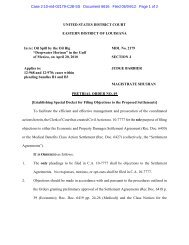 Pretrial Order No. 49 - US District Court - Eastern District of Louisiana