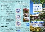 Einladungsflyer - Elias-Schrenk-Haus in Tuttlingen