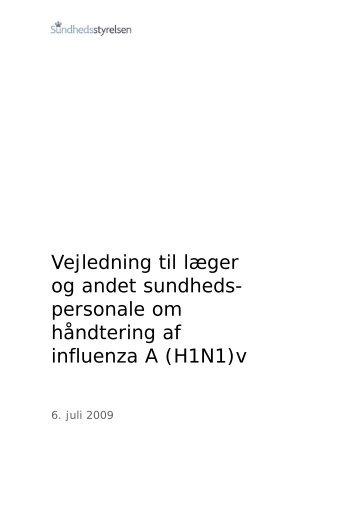 Vejledning om influenza A